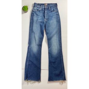 🔥 Mother Jeans Tripper Weekender Fray size 25 🔥